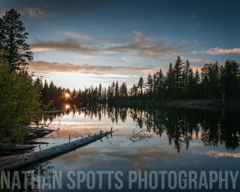 Reflection Lake by nathanspotts