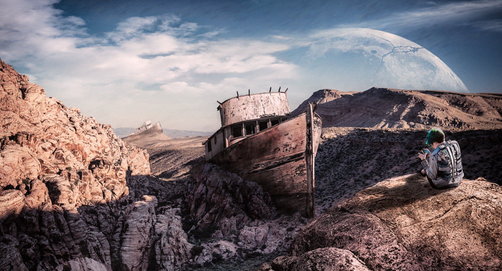 Documenting the Desert Tides by nathanspotts