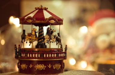 Riding Home for Christmas by kathrinholzreiter