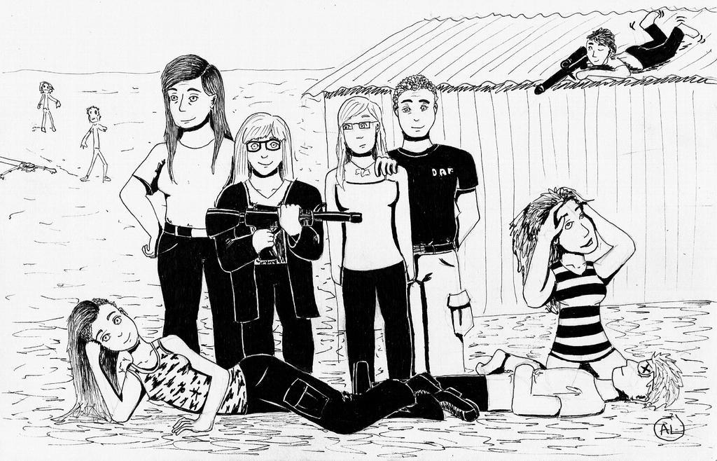 zombie crew by Fuffe-Tuff