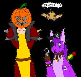 Halloween at MaQual by Fuffe-Tuff