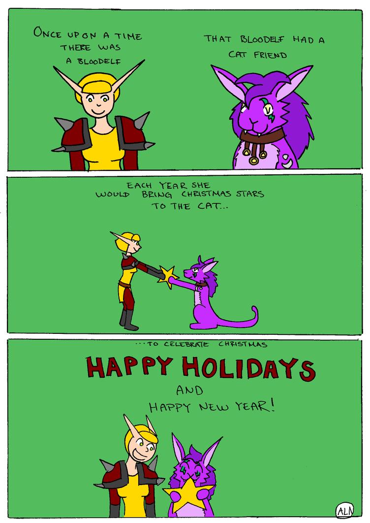 Happy Holidays 2017 by Fuffe-Tuff