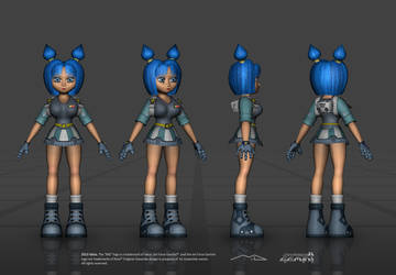 Jet Force Gemini - Vela - 2013 by TheRealValce
