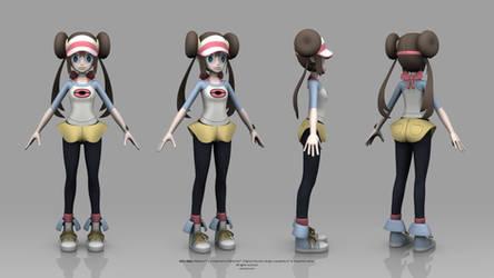 Pokemon Black and White 2 - Rosa