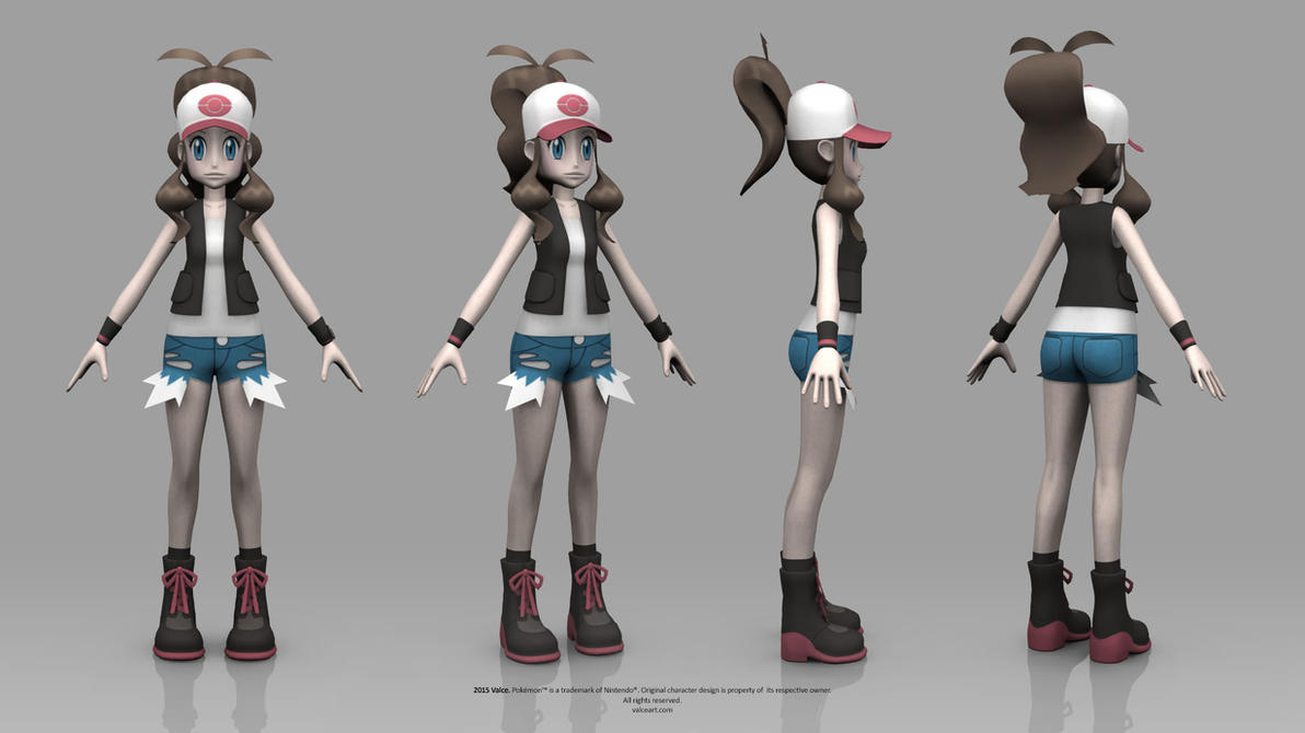 Pokemon Black And White Hilda 550117251