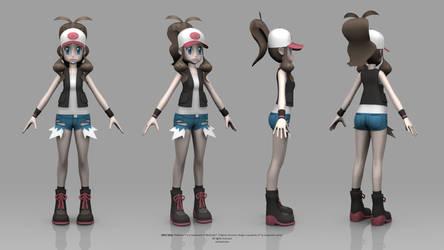 Pokemon Black and White - Hilda
