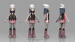 Pokemon Diamond and Pearl - Dawn