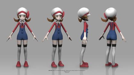 Pokemon HeartGold and SoulSilver - Lyra