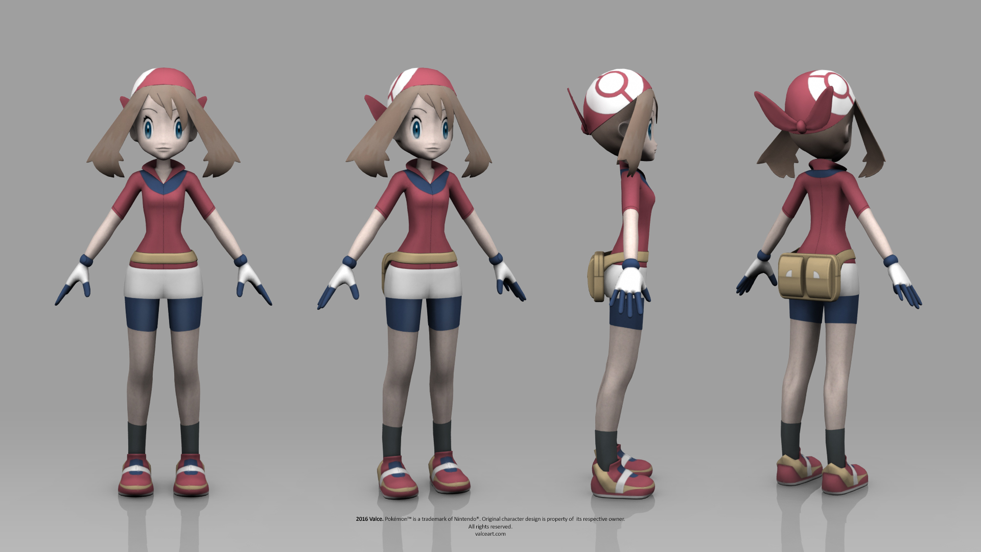 Pokemon Ruby and Sapphire - May by TheRealValce