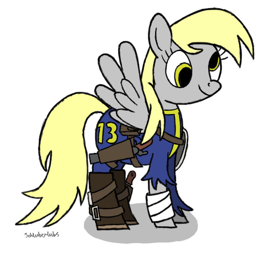 The Vault Derpy by Schluberlubs