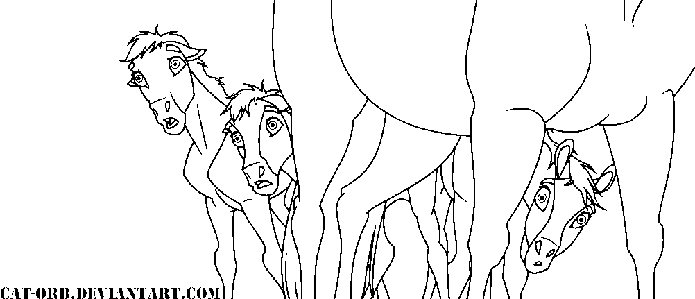 Spirit Stallion Of The Cimarron Coloring Pages Rain - Coloring Home | 431x1002