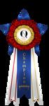 Norwegian Quagga Ribbons - Grand Champion by Cat-Bells