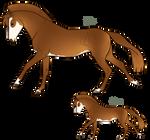 Aurumion Horse - Skulled by Cat-Bells
