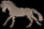 Aurumion Horse - Dove by Cat-Bells