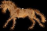 Aurumion Horse - Merle by Cat-Bells