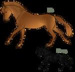 Aurumion Horse - Iridicent by Cat-Bells