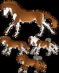 Aurumion Horse - Laika by Cat-Bells