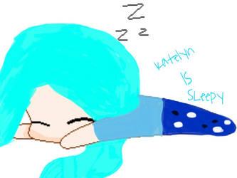 Katelyn in Pjs - 'Katelyn is Sleepy' by Thelostkittenreal