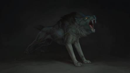 Sabertoothwolf by Aivoree