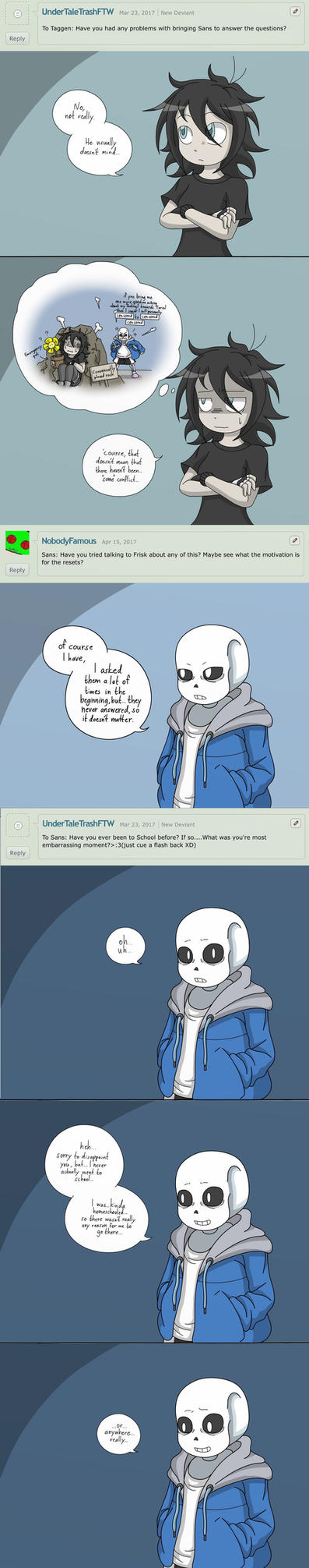 Ask (Sans and me), Memories by taggen96