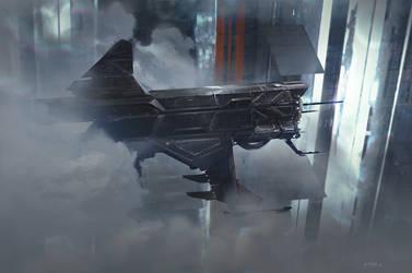 SpaceShip series:1 by FotoN-3