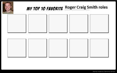 My Top 10 Favorite Roger Craig Smith roles by cameron33268110