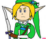 Link in Child of Destiny by cameron33268110