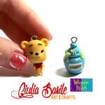 Mini chibi Winnie the Pooh
