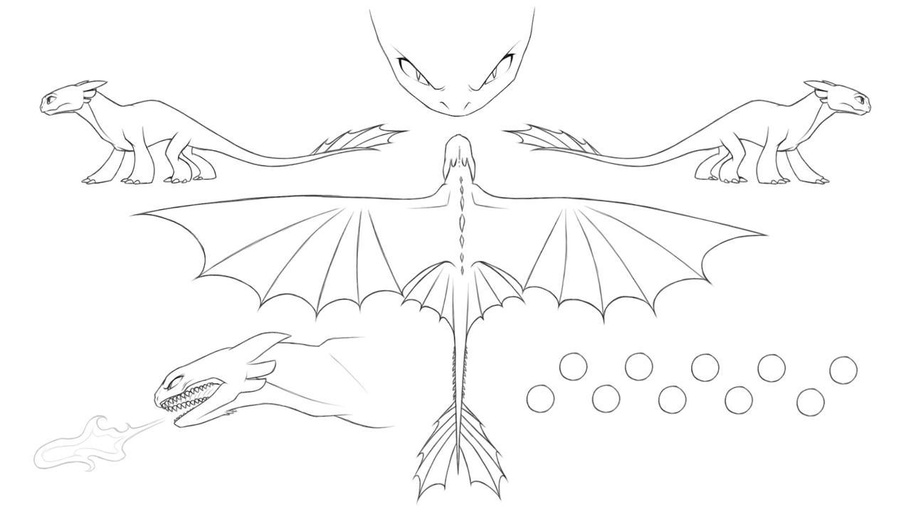 Night Fury Reference Sheet by AmaryllisDreamer on DeviantArt