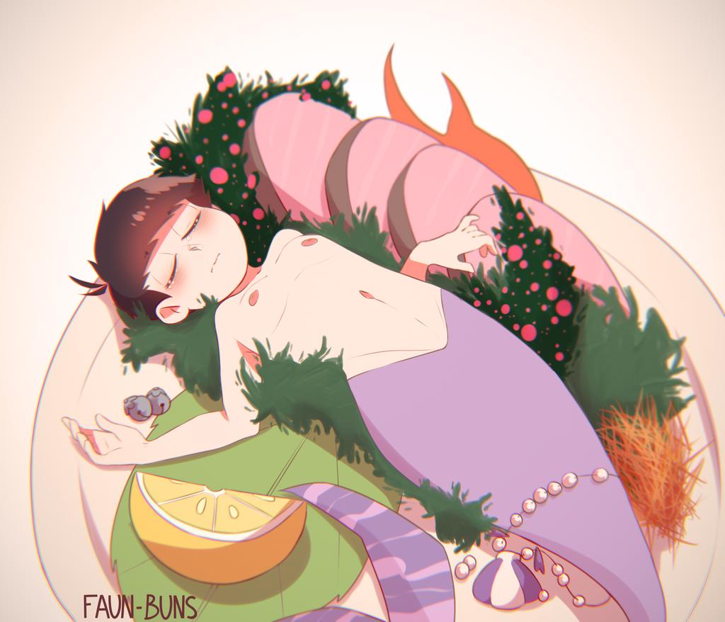 Mermaid Ichimatsu by Faun-Buns