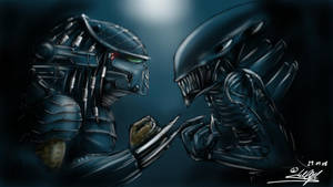 AvP by KingEagle