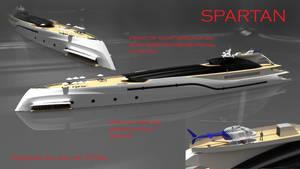 Super yacht Project Spartan 1