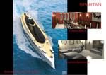 Super yacht Spartan interior