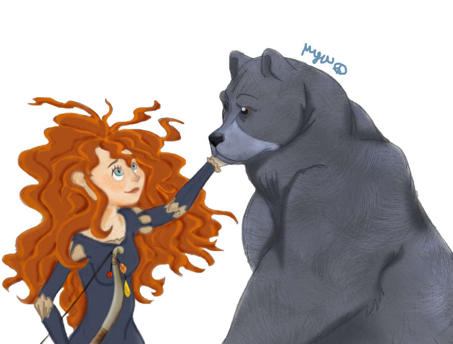 Image result for merida and bear