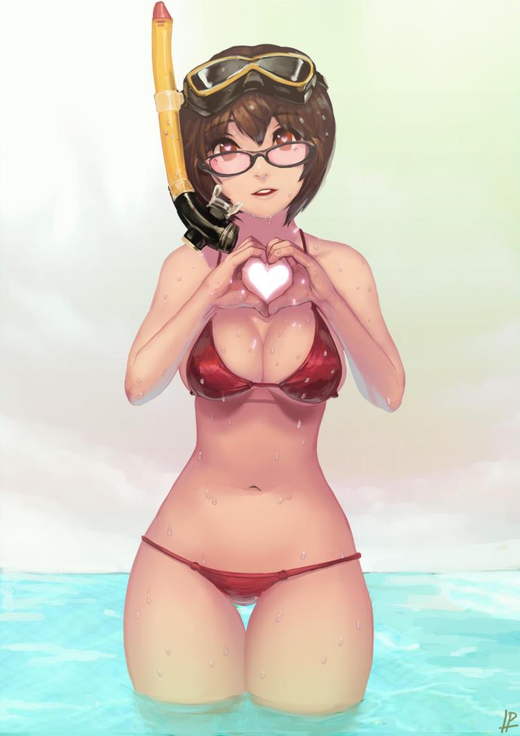 Bikini girl by InstantIP