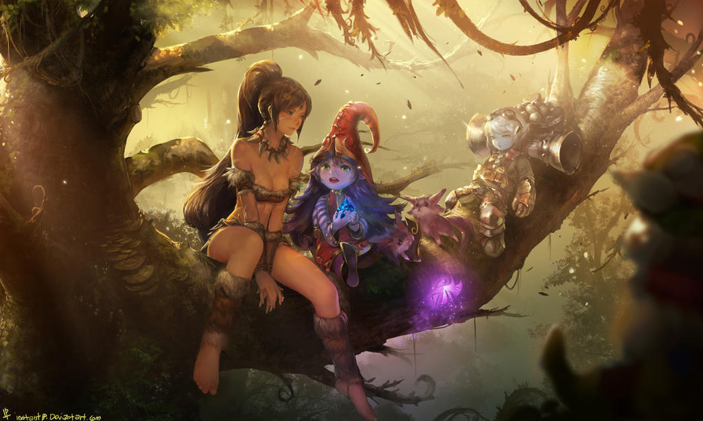 Preseason Three League of Legends Fan Art by InstantIP