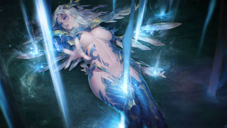 Shendelzare, the Skywrath Princess by InstantIP