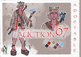 ADOPT AUCTION 07 [OPEN] by paonw