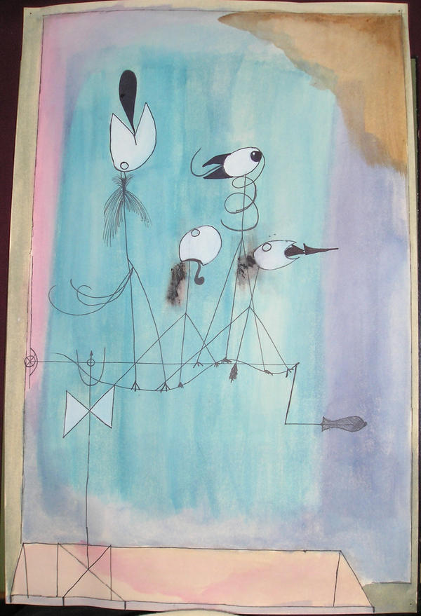 Twittering Machine >> Paul Klee Twittering Machine By Nowweknow On Deviantart