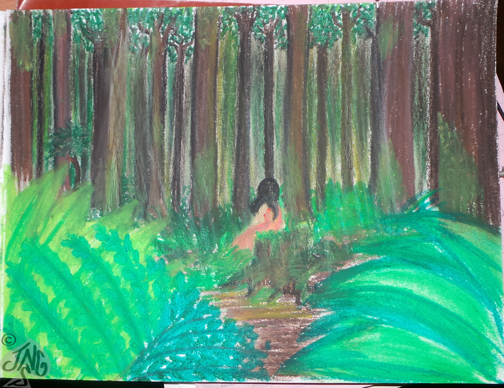 In The Forest - Pastels by nonecansee