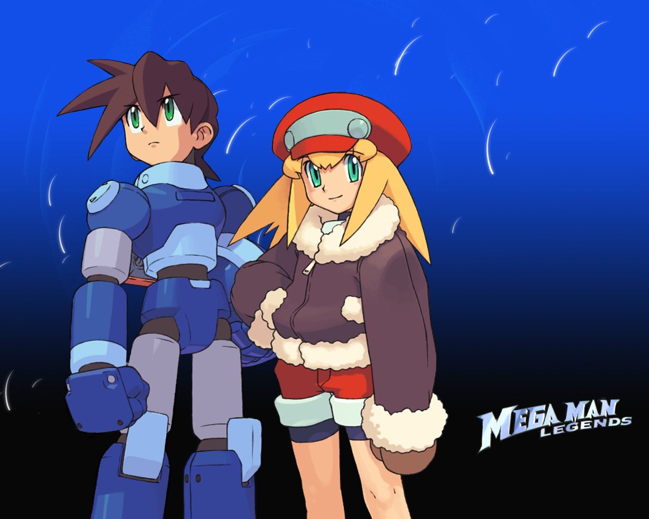 Tribute To Megaman Legends by Springs on DeviantArt