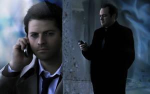 Supernatural - Castiel Crowley by Golbeza