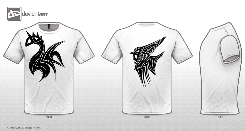 T-Shirt Logo Contest - Tribal by Golbeza