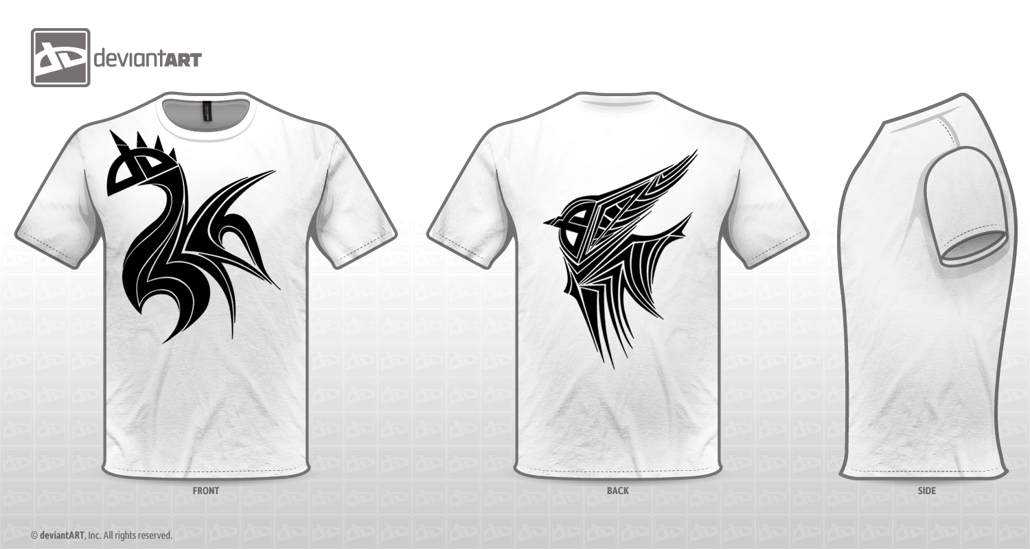 T-Shirt Logo Contest - Tribal by Golbeza