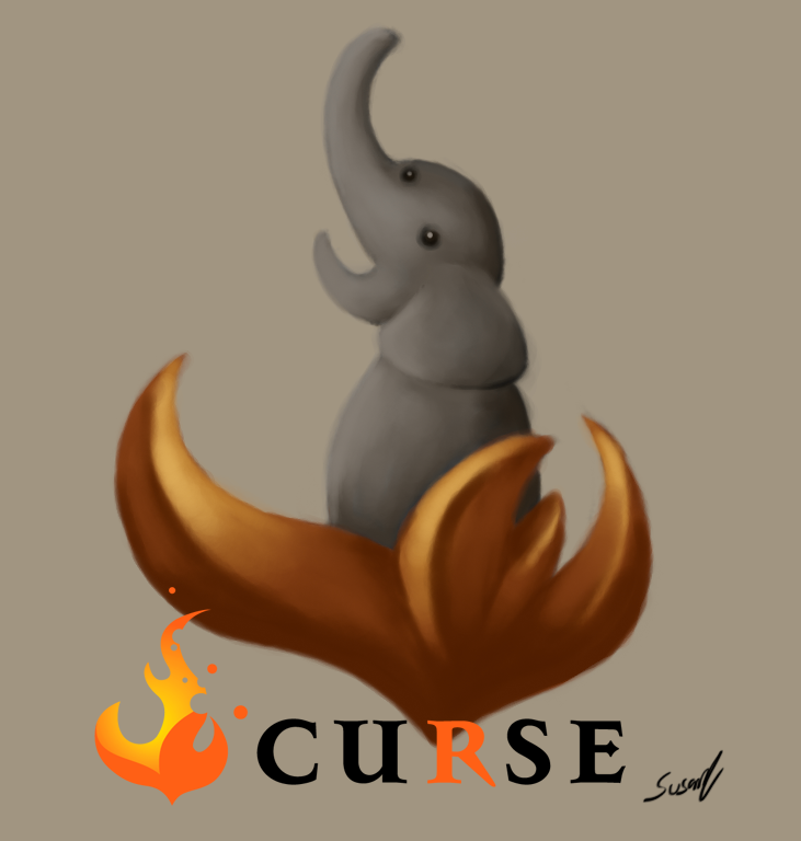 Curse Elephant by Golbeza