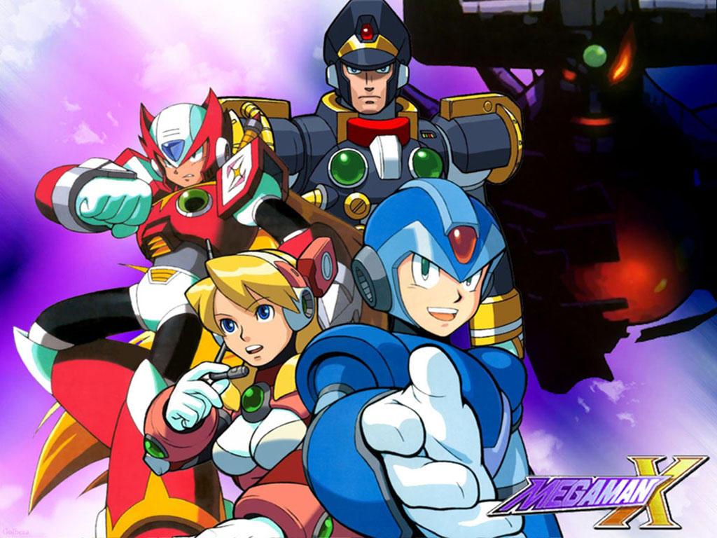 Megaman X by Golbeza