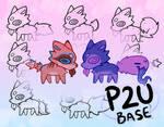 little blep p2u bases - $2.50 or 250 points!