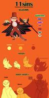 11sins - Species Guide