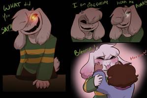 Edgy Fluffybuns Jr by Channydraws