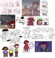 Tumblr stuff by Channydraws